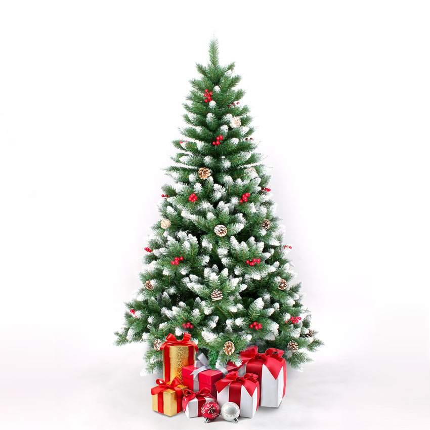 Bergen: Künstlicher Weihnachtsbaum Geschmückt Deko 180 cm