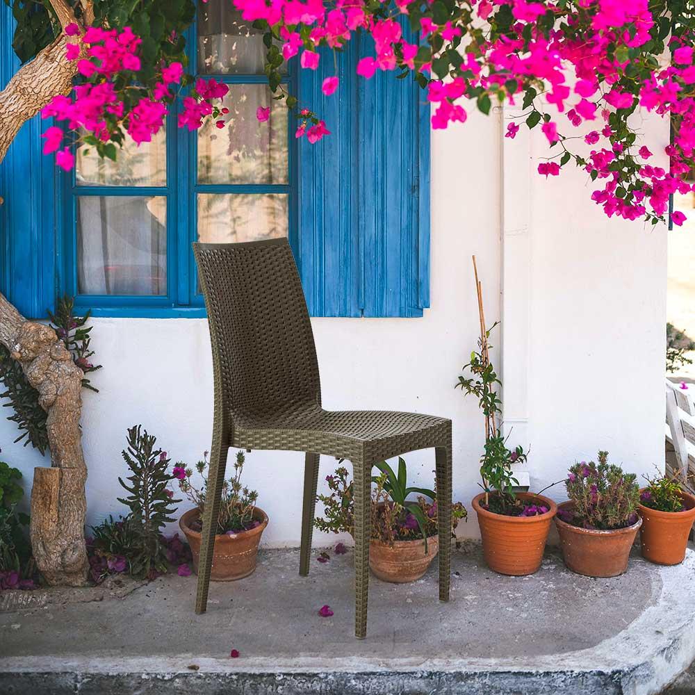 Sessel Stühle Gartenstühle Außenstühle Terrasse Bistrot Grand Soleil