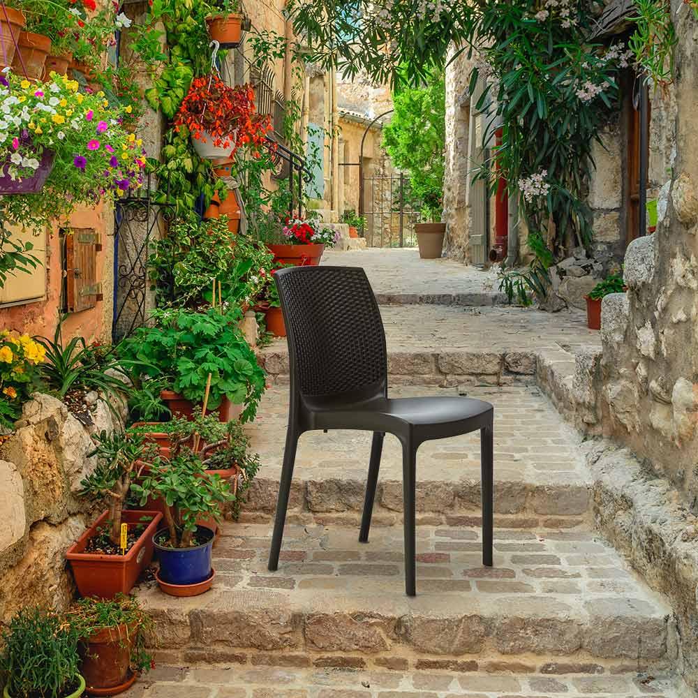 Stühle Außenstühle Küchenstuhl Esstischstuhl Esszimmerstuhl Boheme Grand Soleil