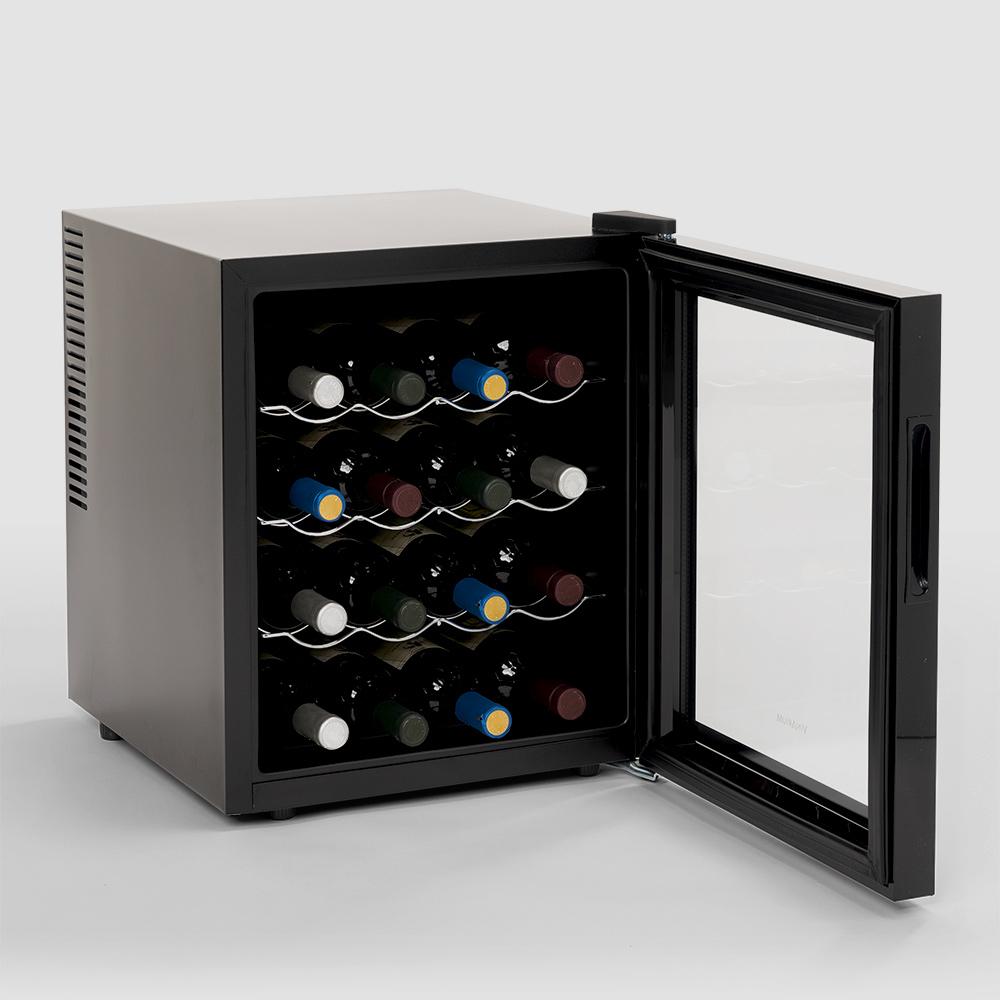 Weinkühler 16 Flaschen Professionelle Bacchus Xvis