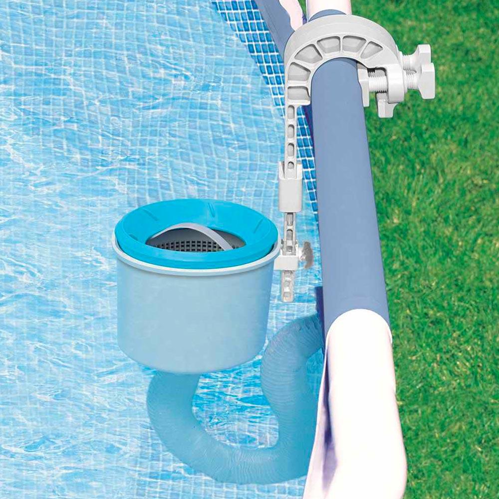 Intex 28000 Oberflächenabsauger Deluxe Pool Universell Außen Filter Einhängeskimmer