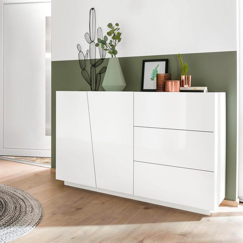 Sideboard Kommode modernes Design 2 Türen 3 Schubladen Vega Living