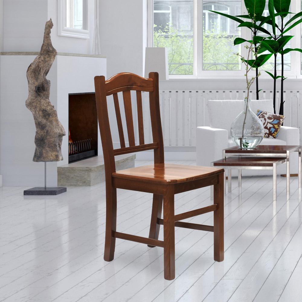 Esstischstuhl Esszimmerstuhl Aus Massivholz Design Silvana