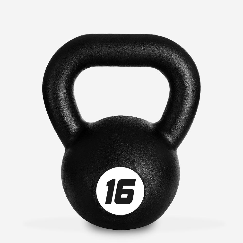 Eisen Kettlebell Gewicht 16 kg Kugel Griff für Fitnessstudio Kotaro