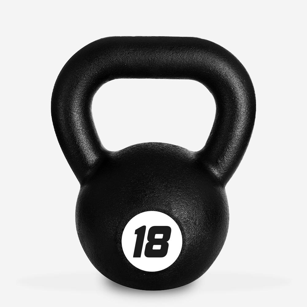 Eisen Kettlebell Gewicht 18 kg Kugel Griff für Fitnessstudio Kotaro
