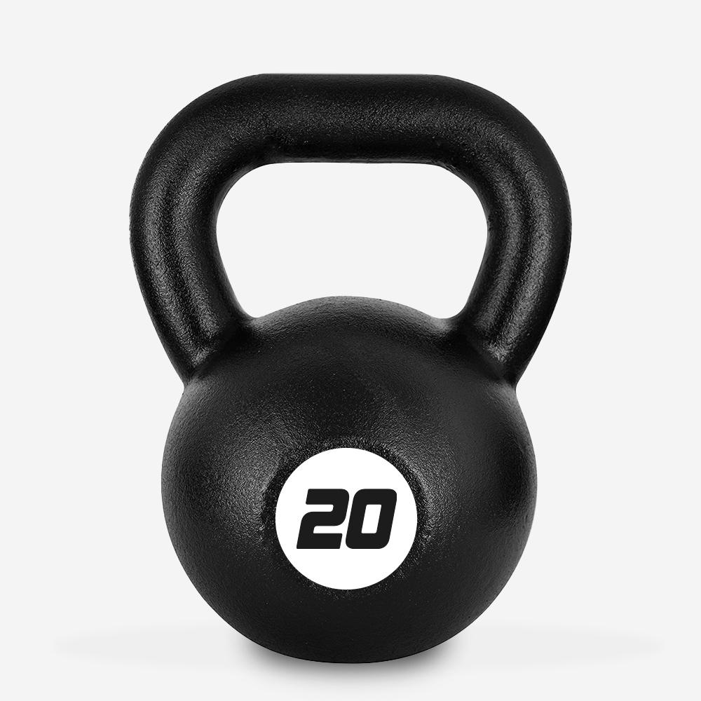 Eisen Kettlebell Gewicht 20 kg Kugel Griff für Fitnessstudio Kotaro