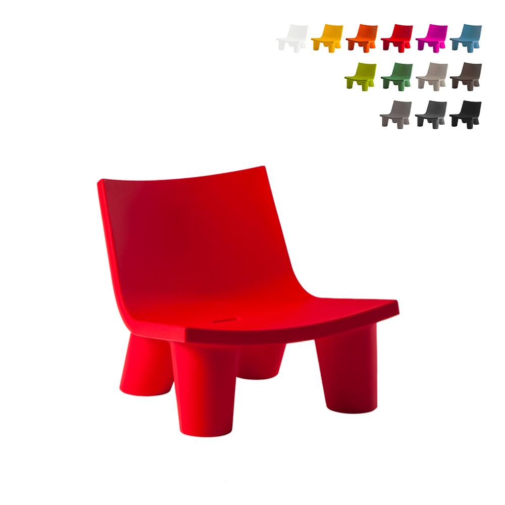 Moderner Design-Stuhl Afro Style Lounge Sessel für Home Bars Local Slide Low Lita