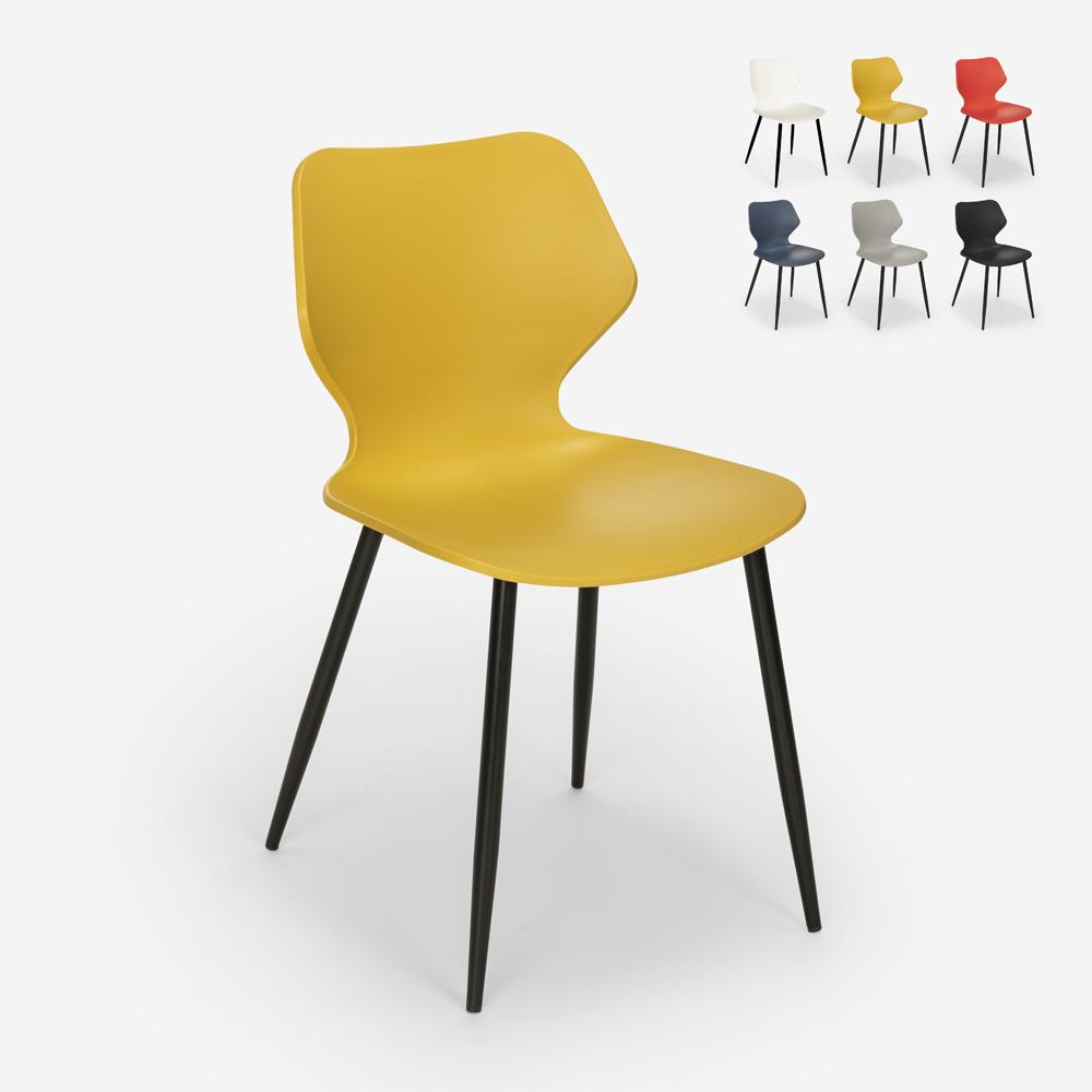 Esszimmerstuhl aus Polypropylen in modernem Design Ladysmith