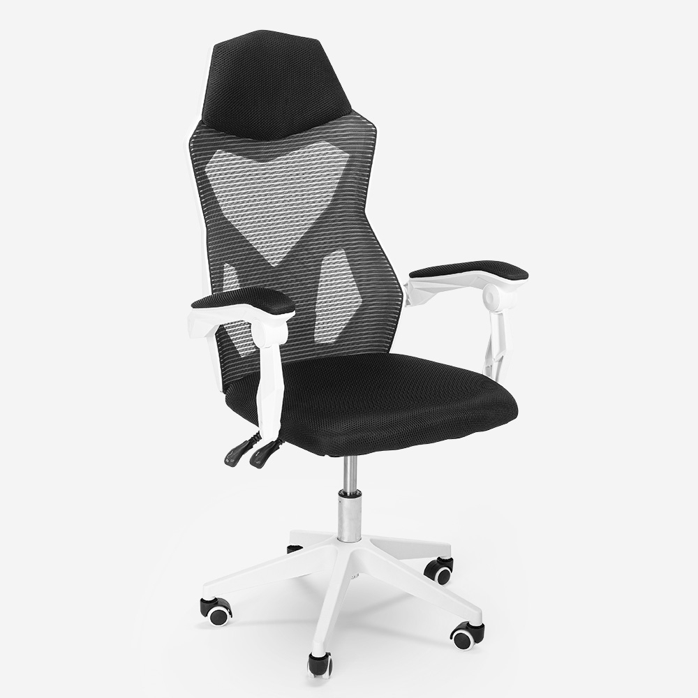 Atmungsaktiver ergonomischer Gaming-Stuhl mit futuristischem Design Gordian
